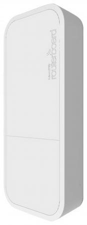 Точка доступа Mikrotik wAP 802.11n 300Mbps 2.4ГГц белый RBwAP2nD точка доступа level one wap 6012