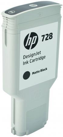 Картридж HP 728 F9J68A для DJ Т730/Т830 матовый черный картридж hp cz101ae 650 black для dj ia 2515