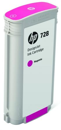 Картридж HP 728 F9J66A для DJ Т730/Т830 пурпурный картридж hp 728 f9j66a magenta 130 мл