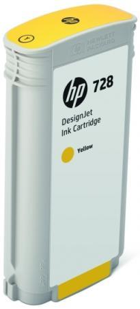 Картридж HP 728 F9J65A для DJ Т730/Т830 желтый картридж hp 728 f9k17a для dj t730 голубой