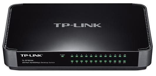Коммутатор TP-LINK TL-SF1024M неуправляемый 24 порта 10/100Mbps коммутатор tp link tl sf1016ds 16 ports 10 100mbps