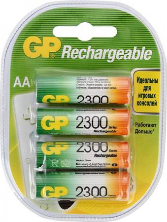 Аккумуляторы 2300 mAh GP 230AAHC-2DECRC4 AA 4 шт gp 230aahc 2cr2