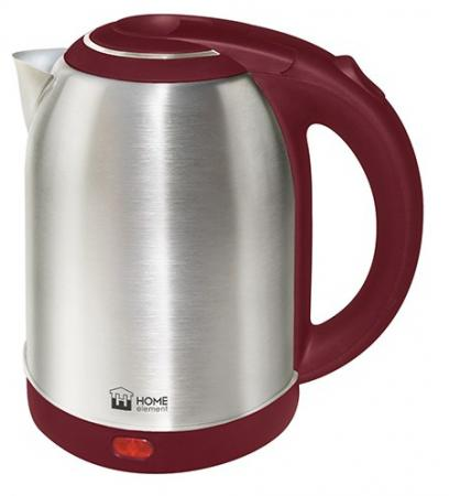 Чайник HOME ELEMENT HE-KT155 1800 Вт 2 л металл красный металлик kd621k30 prx 300a1000v 2 element darlington module