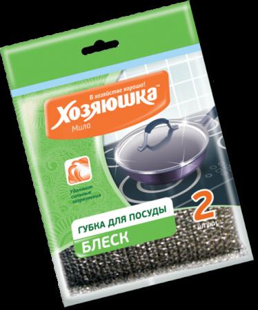 Губка для посуды Хозяюшка Мила Блеск 01018-100 от Just.ru