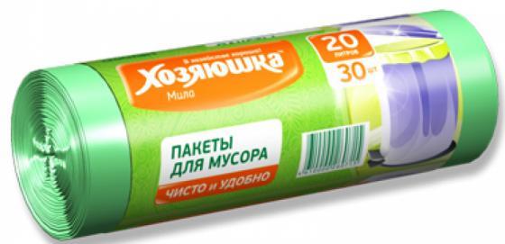 Пакеты для мусора Хозяюшка Мила 07001-80 пакеты для мусора хозяюшка мила с завязками 35 л 15 шт