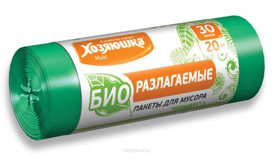 Пакеты для мусора Хозяюшка Мила 07025 от Just.ru
