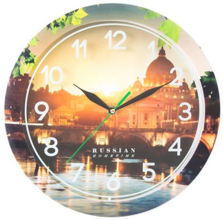 Часы настенные Вега П 1-263/7-263 часы настенные вега п 4 14 7 86 новогодние подарки