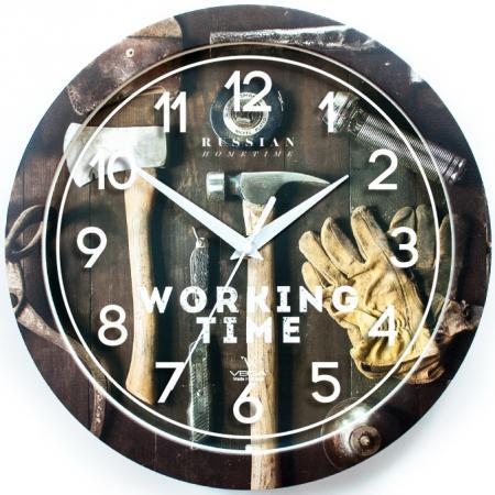 Часы настенные Вега Мастерская П 1-293/7-293 разноцветный sitemap 293 xml