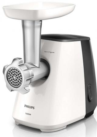 Электромясорубка Philips HR2713/30 450 Вт чёрный белый philips hd3197 03