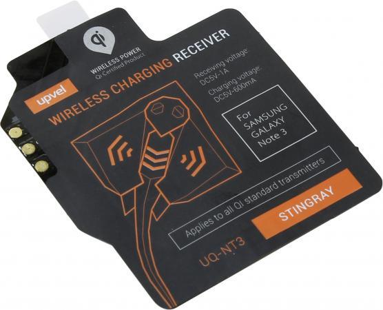 Беспроводное зарядное устройство Upvel UQ-NT3 Stingray черный чехол upvel uq ci6 stingray для iphone 6 чёрный