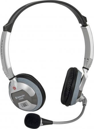 Гарнитура Defender HN-928 регулятор громкости 3м кабель 63928 defender phoenix hn 928 наушники с микрофоном