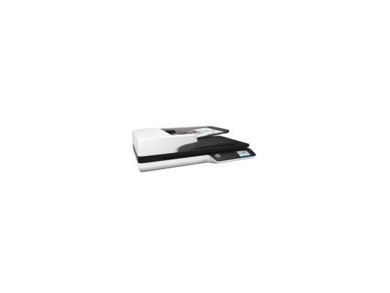 Сканер HP ScanJet Pro 4500 fn1 L2749A A4 планшетный CIS 1200x1200dpi USB сканер hp scanjet pro 3000 s3 l2753a