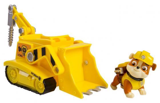 Игровой набор Paw Patrol Бульдозер с фигуркой щенка Rubble 20070084
