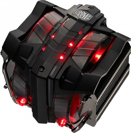 Кулер для процессора Cooler Master V8 Socket 2011-3/2011/1366/1156/1155/1150/FM2+/FM2/FM1/AM3+/AM3/AM2+/AM2 RR-V8VC-16PR-R2 thermalright le grand macho rt computer coolers amd intel cpu heatsink radiatorlga 775 2011 1366 am3 am4 fm2 fm1 coolers fan