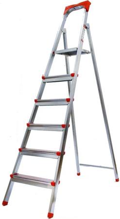 Лестница-стремянка Fit стальная 6 ступеней 65334