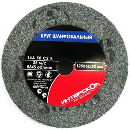 Круг шлифовальный Интерскол 2181912505001 круг шлифовальный интерскол для упм 180 k80 5шт