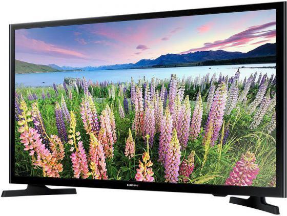 Телевизор LED 48 Samsung UE48J5200AUXRU черный 1920x1080 100 Гц HDMI USB led телевизор samsung ua48ju6800jxxz 48 4k wifi led