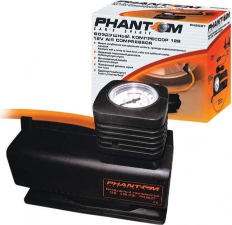 Автомобильный компрессор Phantom РН2027 85Вт 12л/мин усилитель автомобильный phantom lx 1 600 [2069025]