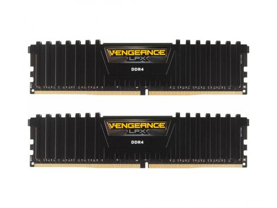Оперативная память 4Gb (2x4Gb) PC4-19200 2400MHz DDR4 DIMM CL16 Corsair CMK8GX4M2A2400C16 цена и фото