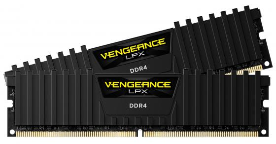 Оперативная память 8Gb (2x8Gb) PC4-19200 2400MHz DDR4 DIMM CL16 Corsair CMK16GX4M2A2400C16 оперативная память 16gb 2x8gb pc4 19200 2400mhz ddr4 dimm cl16 corsair cmk16gx4m2a2400c16r