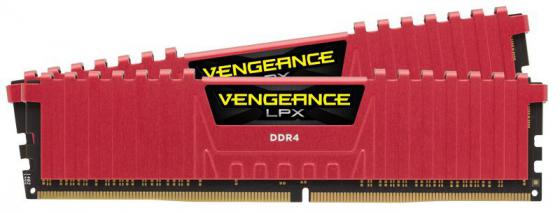 Оперативная память 16Gb (2x8Gb) PC4-19200 2400MHz DDR4 DIMM Corsair CMK16GX4M2A2400C16R