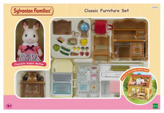 Игровой набор Sylvanian Families Мебель для дома Марии 5220 набор мебель для дома марии sylvanian families