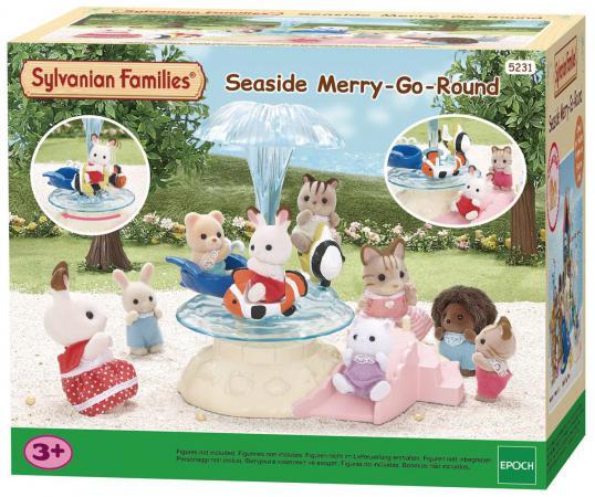 Игровой набор Sylvanian Families Морская карусель 5231 игра sylvanian families морская карусель 5231