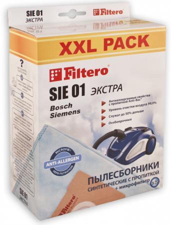 Пылесборники Filtero SIE 01 XXL Экстра пятислойные 8шт цена