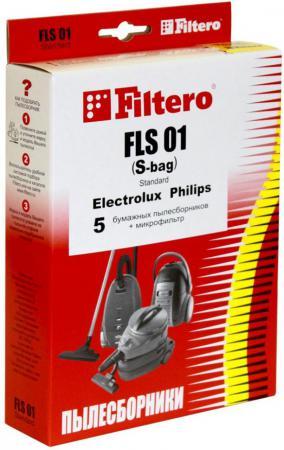 Пылесборники Filtero FLS 01 S-bag Standard двухслойные 5шт+фильтр цена