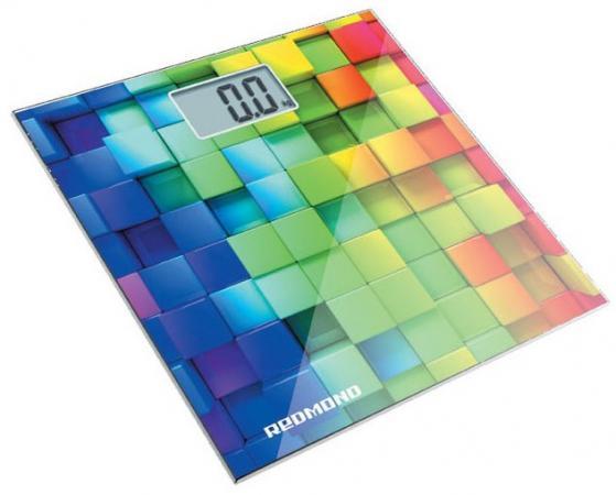 Весы напольные Redmond RS-708 белый/кубики весы напольные redmond rs 708