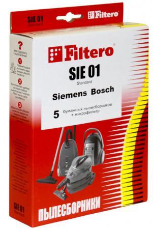 Пылесборники Filtero SIE 01 Standard двухслойные 5шт+фильтр