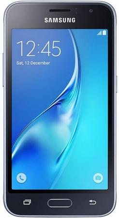 Смартфон Samsung Galaxy J1 2016 черный 4.5 8 Гб LTE Wi-Fi GPS 3G SM-J120FZKDSER смартфон