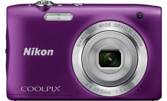 Фотоаппарат Nikon Coolpix A100 20Mp 5x Zoom фиолетовый