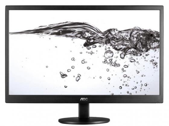 Монитор 23.6 AOC E2470SWDA/01 черный TFT-TN 1920x1080 250 cd/m^2 5 ms DVI VGA Аудио монитор 21 5 asus ve228tlb черный tft tn 1920x1080 250 cd m^2 5 ms dvi vga аудио usb