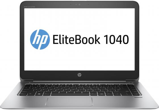 Ноутбук HP EliteBook 1040 G3 14 1920x1080 Intel Core i7-6500U 256 Gb 8Gb Intel HD Graphics 520 серебристый Windows 7 Professional + Windows 10 Professional V1B07EA vd 2409s10