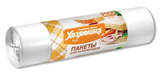 Пакеты для бутербродов Хозяюшка Мила 09013 цены