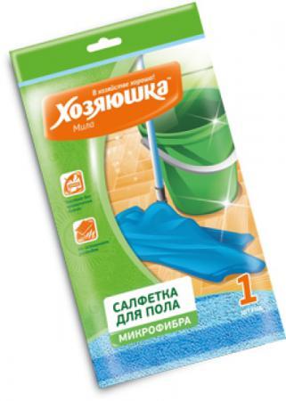 Салфетка из микрофибры для пола Хозяюшка Мила 06005 тряпка для мытья пола хозяюшка мила 06012 25