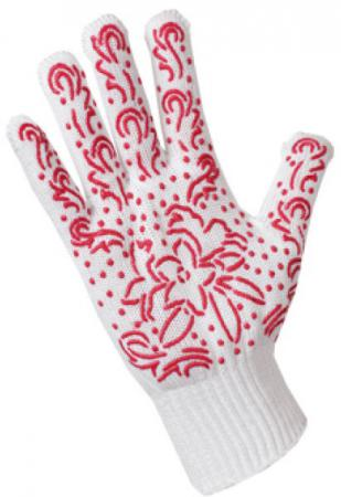 Перчатки трикотажные для садовых работ Хозяюшка Мила 17029 наколенники для садовых работ bradex