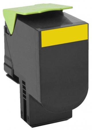 Картридж Lexmark 70C8XYE для CS510de CS510dte желтый 4000стр тонер картридж для лазерных аппаратов lexmark cs510de cs510dte black extra high yield corporate cartridge 8k 70c8xke