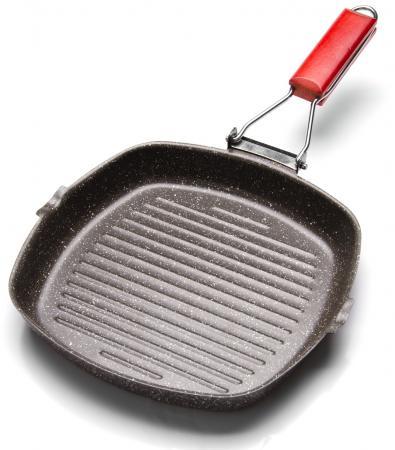 Сковородка-гриль Mayer&Boch МВ-25504 24 см углеродистая сталь сковорода гриль 24х24 см mayer and boch mb 25504