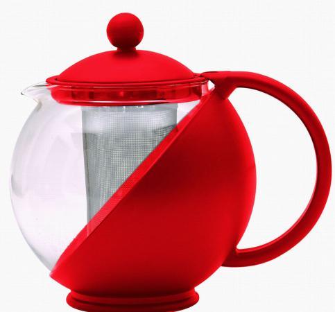 Чайник заварочный Bekker BK-300 цвет в ассортименте 0.75 л пластик/стекло чайник заварочный bekker 303 вк серебристый 0 9 л металл пластик