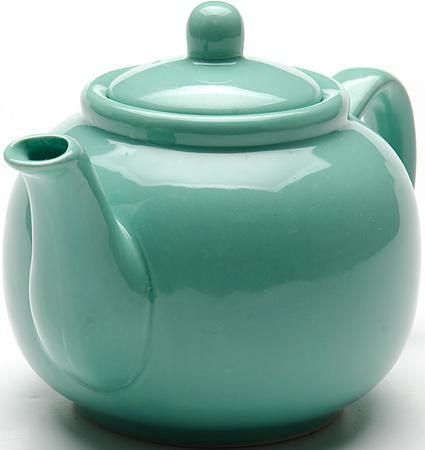 Чайник заварочный Loraine LR-24867 0.94 л керамика зелёный loraine
