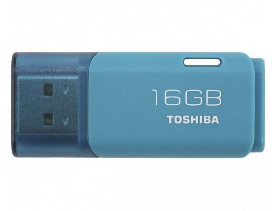 цена на Флешка USB 16Gb Toshiba Hayabusa THN-U202L0160E4 синий