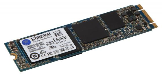 Твердотельный накопитель SSD M.2 480 Gb Kingston SM2280S3G2/480G Read 550Mb/s Write 520Mb/s MLC твердотельный накопитель ssd 2 5 120 gb qumo novation mm read 510mb s write 140mb s mlc qmm 120gsn