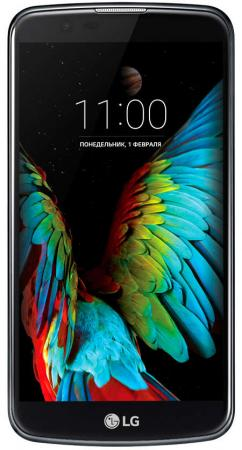 """купить Смартфон LG K10 LTE K430DS черный синий 5.3"""" 16 Гб LTE Wi-Fi GPS 3G K430DS недорого"""