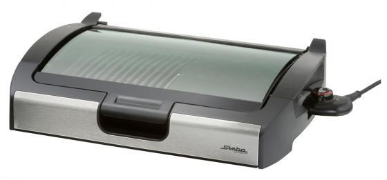 Электрогриль Steba VG 200 серебристый чёрный steba vg 250