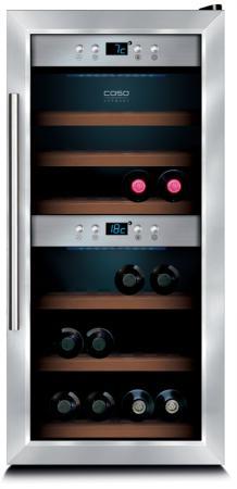 Винный шкаф CASO WineMaster 24 серебристый винный шкаф caso winemaster touch 38 2d черный