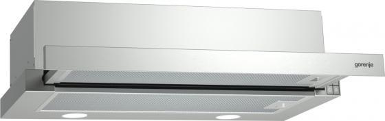 Вытяжка встраиваемая Gorenje BHP623E12X серебристый встраиваемая вытяжка gorenje bhp 623 e 11 b