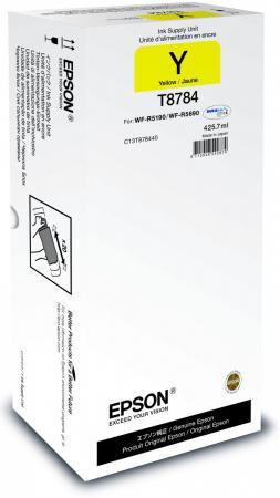 Картридж Epson C13T878440 для WF-R5190DTW/R5690DTWF желтый зимняя резина r 13