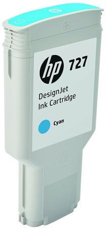 Картридж HP 727 F9J76A для DJ T920/T1500/2500/930/1530/2530 голубой hp 727 printhead b3p06a
